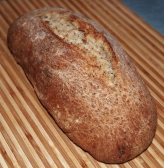 Bread with Ground Flaxseed