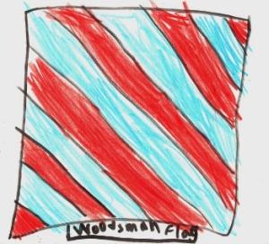 Woodsman Flag