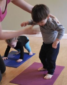 A good yoga teacher helps you with your alignment!