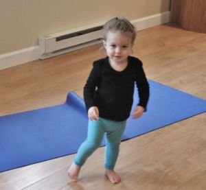 Working up to tree pose