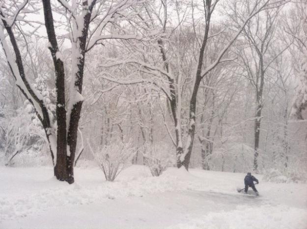 and shovels...