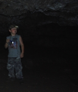 The Spy in Sheep Cave at Meramec State Park