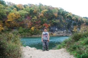 Meramec River at Meramec State Park