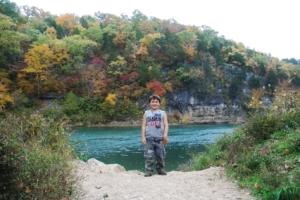 Meramec River at Meramec State Park