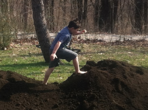 Who knew dirt could be so much fun?!