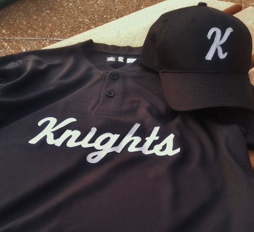 New little league uniforms!