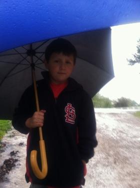 Lots of spring rain!