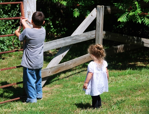 Shutting the neighbor's gate
