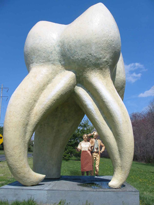 The Tooth, Seward Johnson