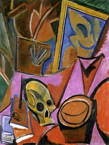 Picasso's Composition with Skull