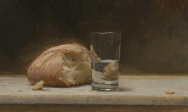 Bread and Water (Jacob Collins)