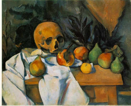 Cezanne's Still Life with Skull