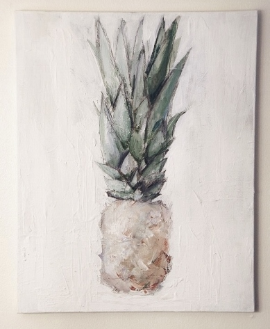 A pineapple painting