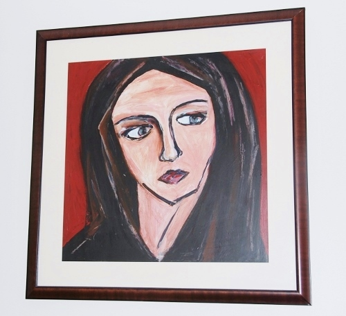 Mary Magdalene (I did this awhile ago: around 2004)