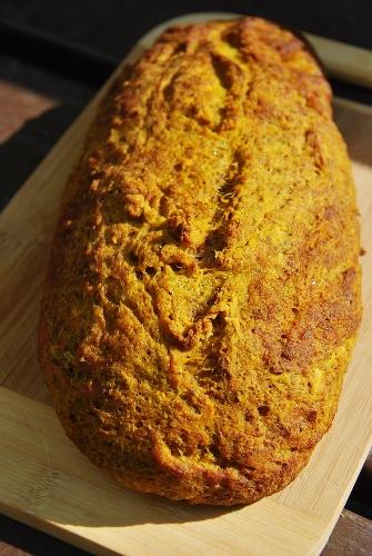Savory Pumpkin Yeast Bread