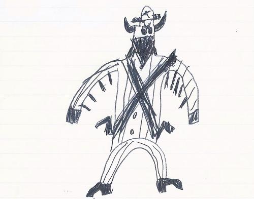 """Crazy Cow Bank Robber"""