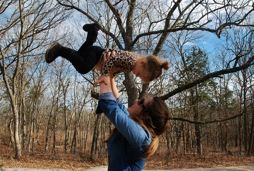 Weeee! (Baby and me)