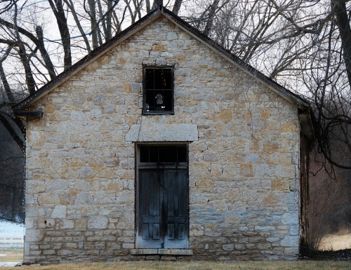 Historic stone church in our area (built in 1800s)