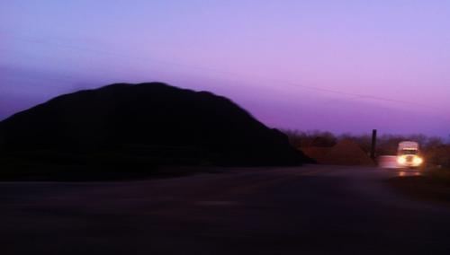 Beautiful mountains of dirt!