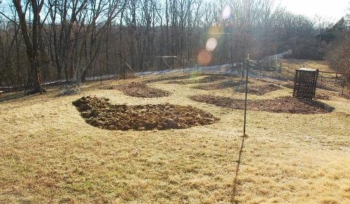 My favorite earth sculpture, Spy Garden