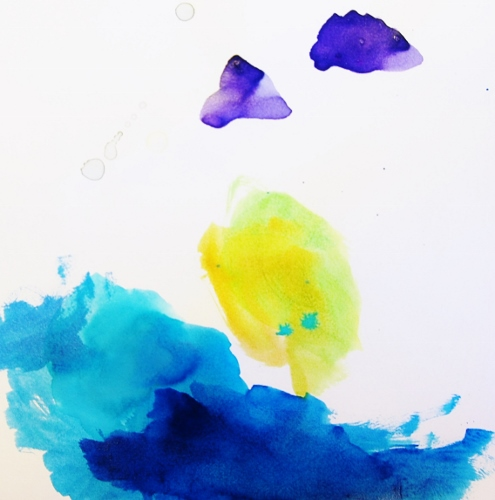 Watercolor, by Baby