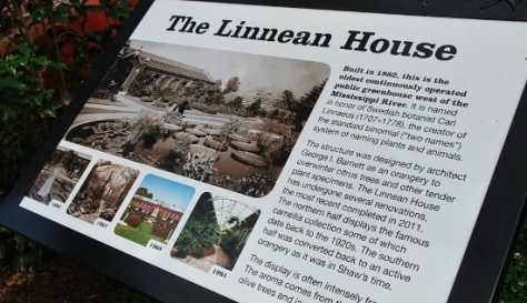 The Linnean House is the oldest greenhouse west of the Mississippi.