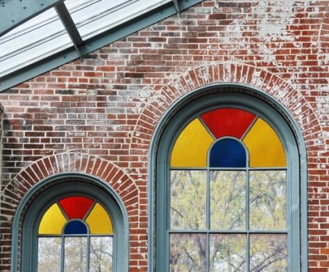 Detail inside the Linnean House