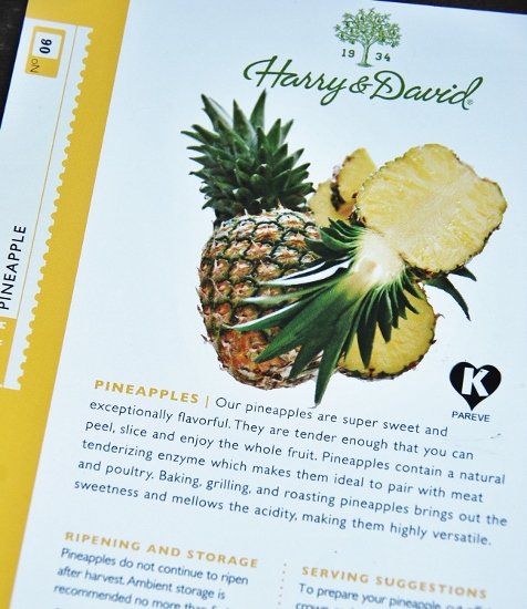 A very fancy pineapple
