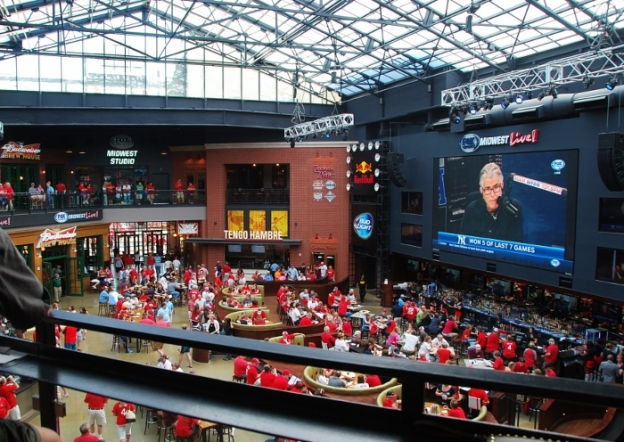 Inside Ballpark Village