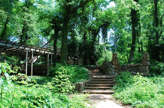 Laumeier Sculpture Park Spy Garden