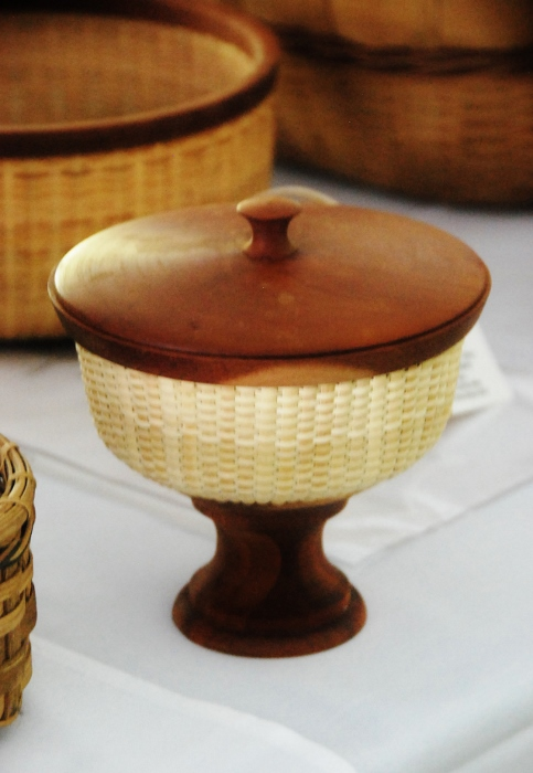 Viewed a unique collection of handmade baskets...