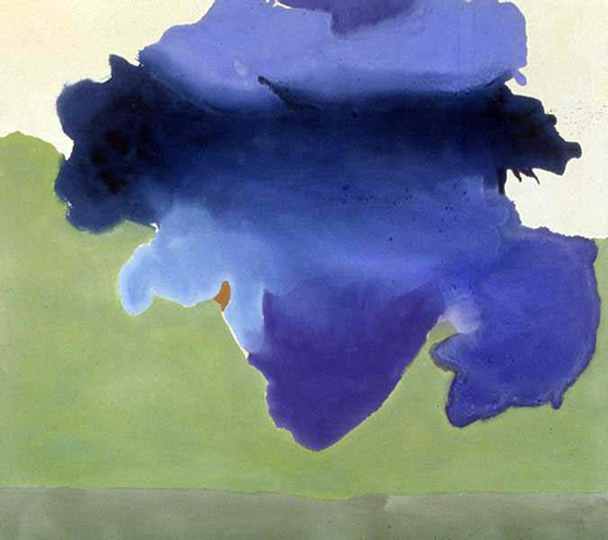 The Bay, Helen Frankenthaler, 1963
