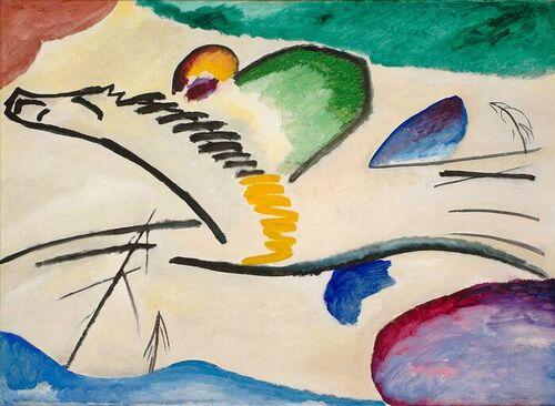 Reiter, Kandinsky, 1911