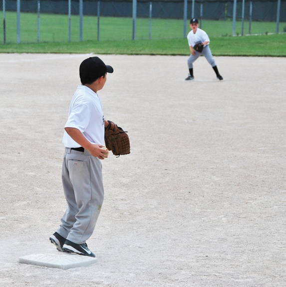 The Spy at First Base