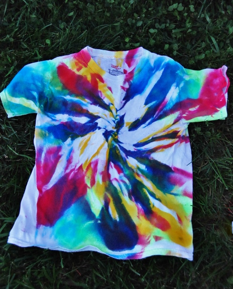 Made some shirts.