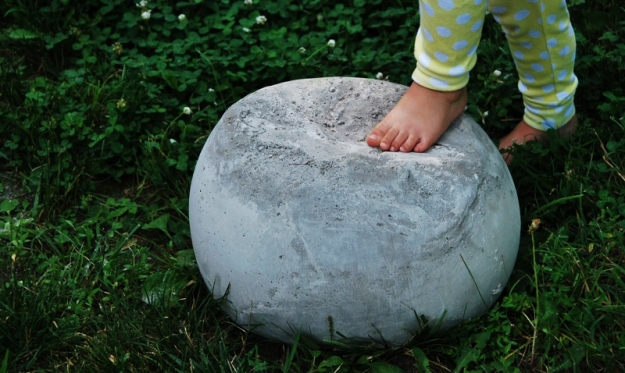 Well, its sort of shaped like a ball.