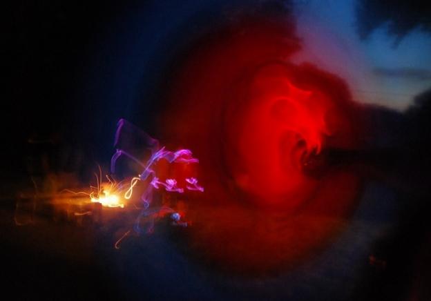 Glow Sticks and Fireworks