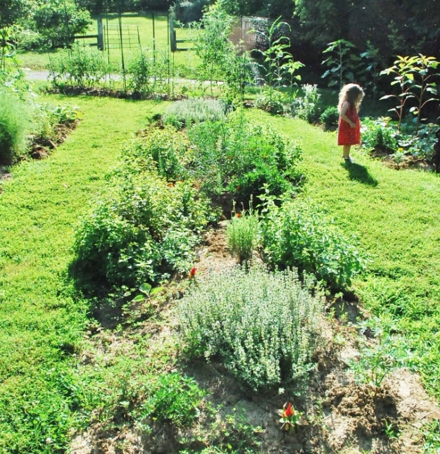 Baby in the Garden