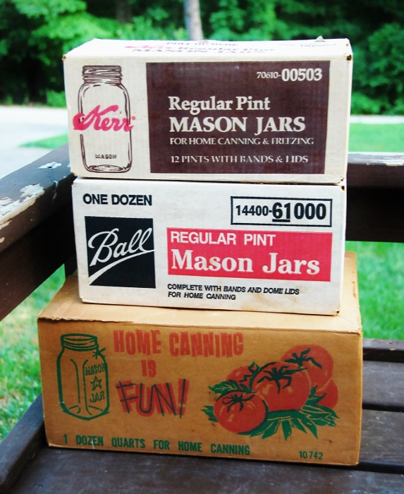 """If canning is """"fun"""" I wonder why all these jars have never been used?! hahaha"""