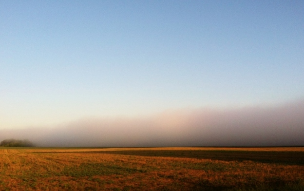 Fog in Missouri River Valley