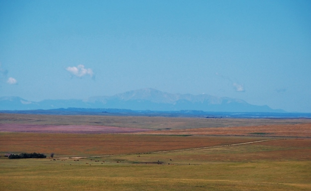 Colorado (Pike's Peak in the distance)