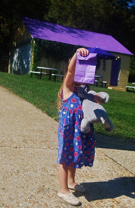 Baby with Lavender Goodies from Winding Brook Estate
