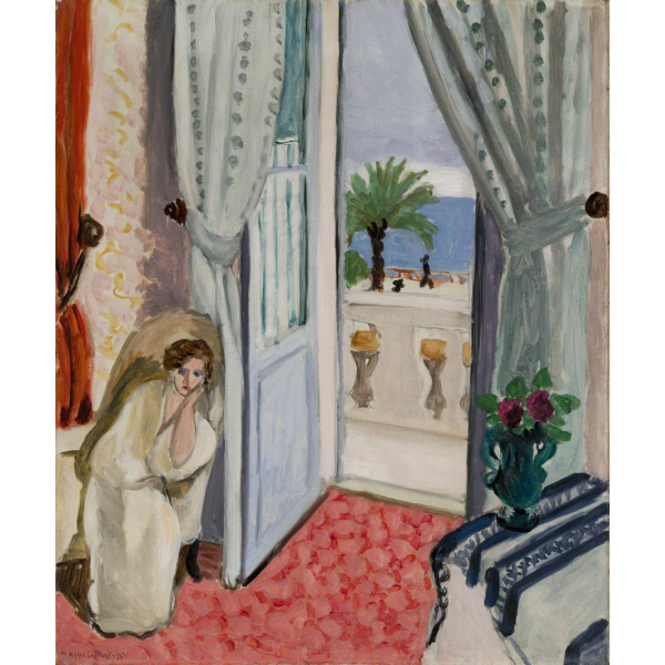 Interior at Nice, Matisse, 1919 (photo credit St. Louis Art Museum)