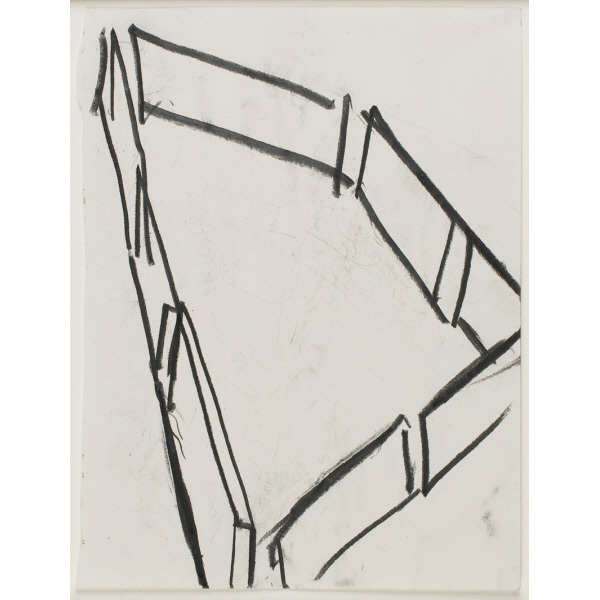 Drawing Related to Twain, Richard Serra, 1982 (photo credit St. Louis Art Museum)
