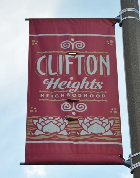 Clifton Heights, one of the many neighborhoods in St. Louis