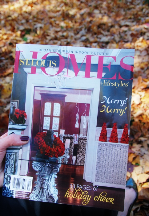The November/December issue of St. Louis Homes and Lifestyles Magazine...