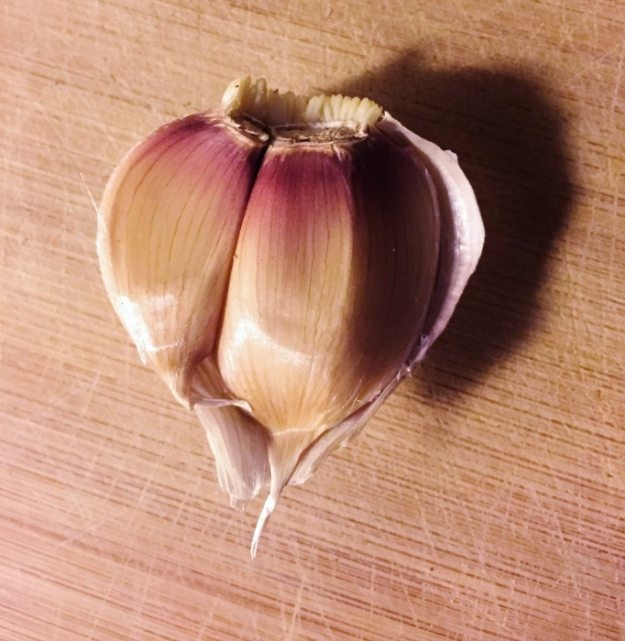 I heart homegrown garlic!