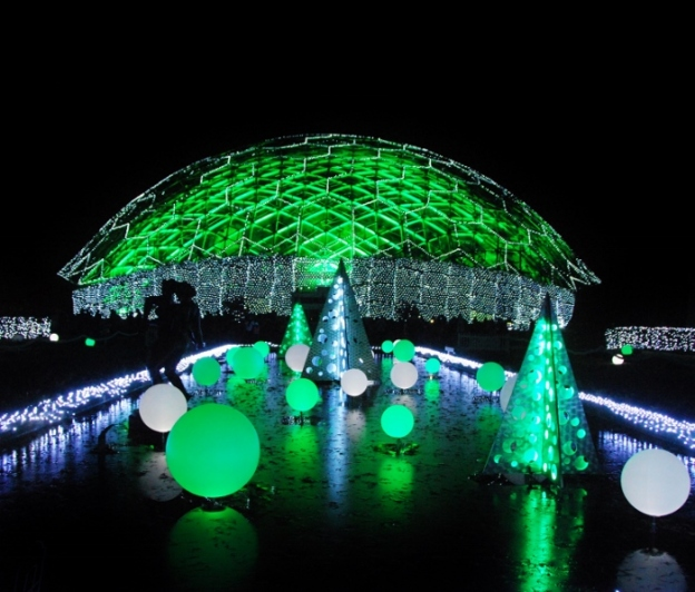 Garden Glow at the Missouri Botanical Garden