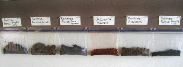 Samples of Dirt