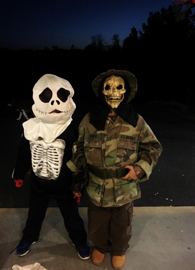 Scary boys!